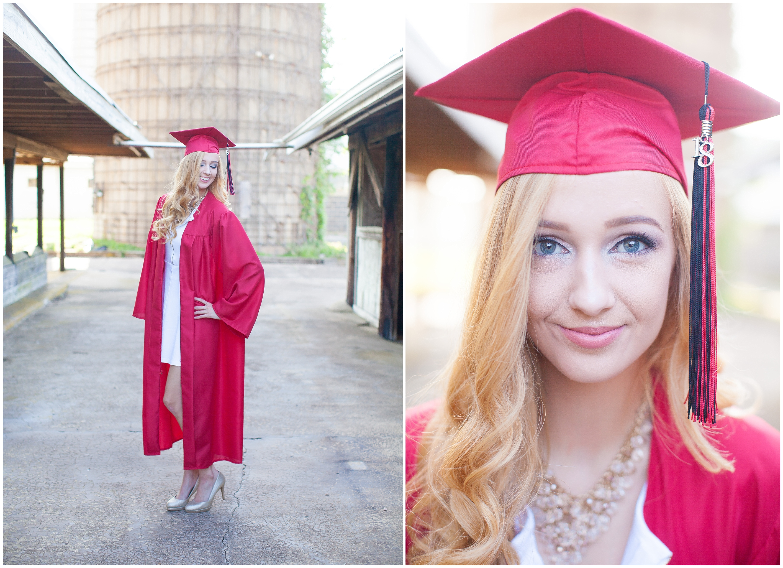 Kimmie | Senior Cap & Gown » Kristin Lorraine Photography